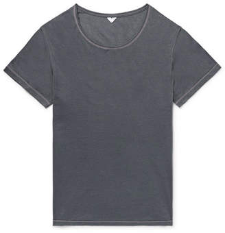 Secondskin Air Knit Perforated Cotton T-Shirt