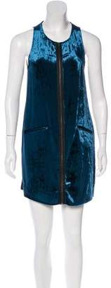 Vena Cava Silk-Blend Dress