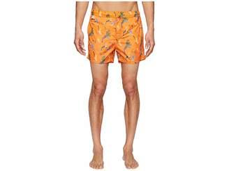 Missoni Mare Mare Printed Birds Nylon Swim Trunks Men's Swimwear