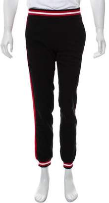Givenchy Skinny Striped Joggers w/ Tags
