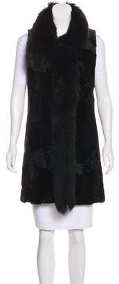 J. Mendel Fur Shearling Vest