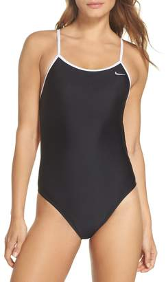 Nike Crossback Cutout One-Piece Swimsuit