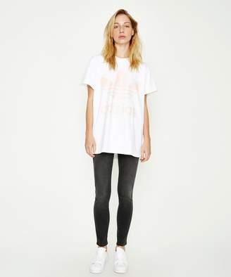 adidas Big Trefoil T-shirt White Pink
