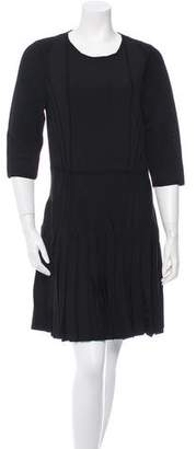 Cushnie et Ochs Knit Half-Sleeve Dress w/ Tags