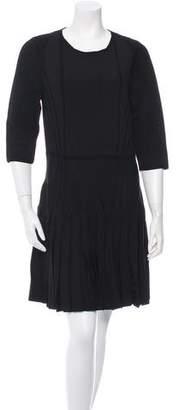 Cushnie et Ochs Knit Half-Sleeve Dress w/ Tags