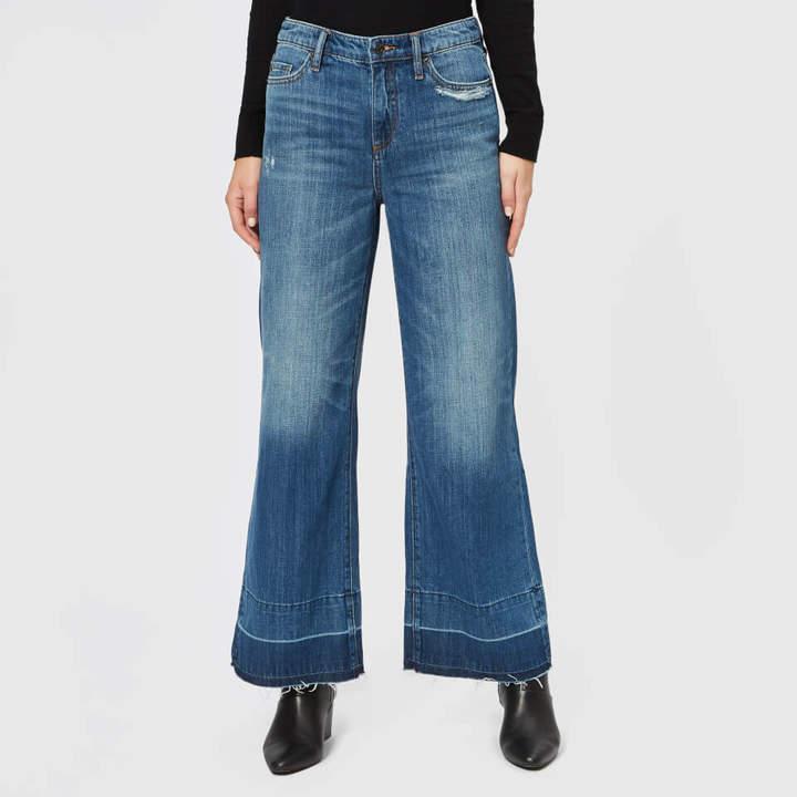 Women's Wide Leg Cropped Jeans