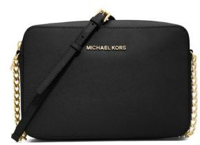 MICHAEL MICHAEL KORS Jet Set Travel Saffiano Crossbody Bag $148 thestylecure.com