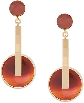 Crystalline Agate earrings