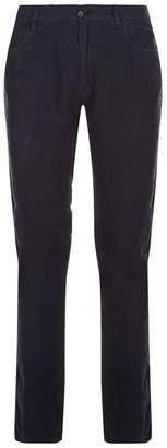 Paul & Shark Linen Straight-Leg Trousers