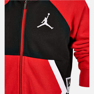 Nike Boys' Jordan Diamond Fleece Full-Zip Hoodie