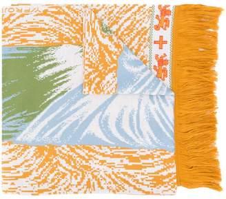 Y/Project Y / Project religion print scarf
