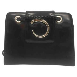 Cartier Panthere Black Patent leather Handbags