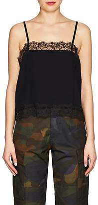 Icons Women's Lace-Trimmed Chiffon Cami