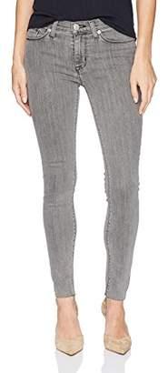 Hudson Jeans Women's Nico Midrise Super Skinny Raw Hem Jeans