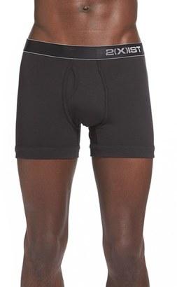 Men's 2(X)Ist Stretch Pima Cotton Boxer Briefs $30 thestylecure.com