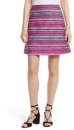 Women's Kate Spade New York Stripe A-Line Skirt