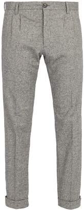 J.w.brine J.W. BRINE New Marshall straight-leg wool-blend trousers