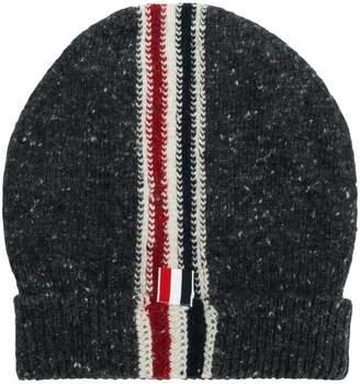 Thom Browne Striped Tweed Jersey Hat