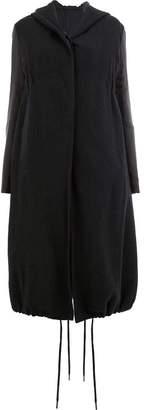 Masnada hooded parka coat