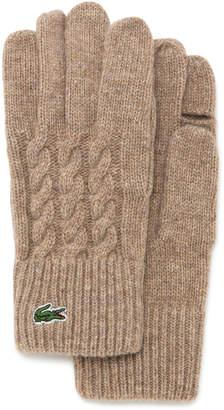 Lacoste (ラコステ) - ケーブル手袋