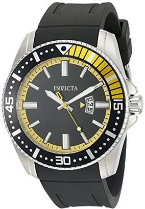 Invicta Men's 21444 Pro Diver Analog Display Japanese Quartz Black Watch