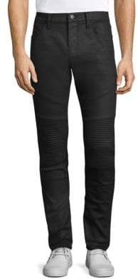 J Brand Bearden Moto Skinny Jeans