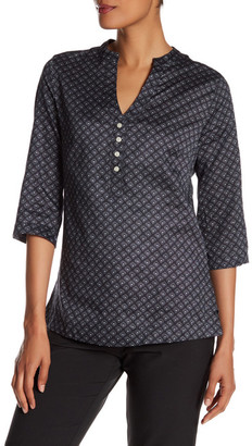 Peter Millar Woven Printed Dots Blouse $119.50 thestylecure.com