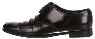 Prada Leather Derby Shoes