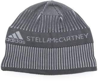 adidas by Stella McCartney Run logo beanie hat