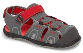 See Kai Run Lincoln III Water Friendly Fisherman Sandal