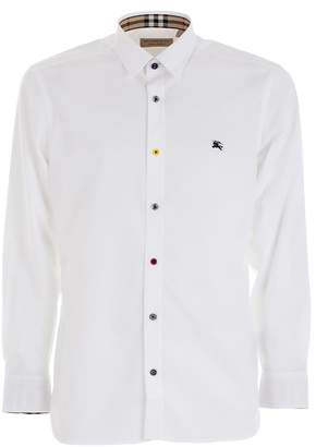 Burberry Button Stretch Shirt