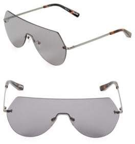 Elizabeth and James Frameless 60MM Shield Sunglasses