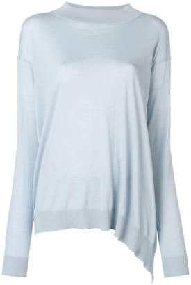 Stella McCartney asymmetric longline sweater