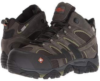 Merrell Work Moab 2 Vent Mid Waterproof CT Men's Work Lace-up Boots