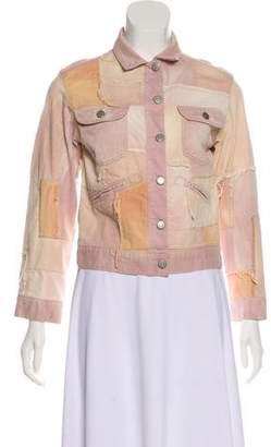 Isabel Marant Distressed Denim Jacket