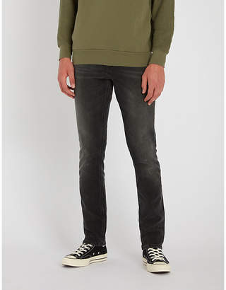 Nudie Jeans Grim Tim regular-fit tapered jeans