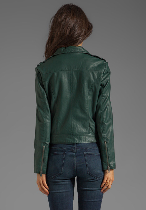 BB Dakota Missy PU Moto Jacket