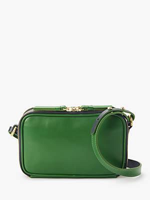 f4789d7f5c34 John Lewis   Partners Aoife Leather Mini Box Cross Body Bag