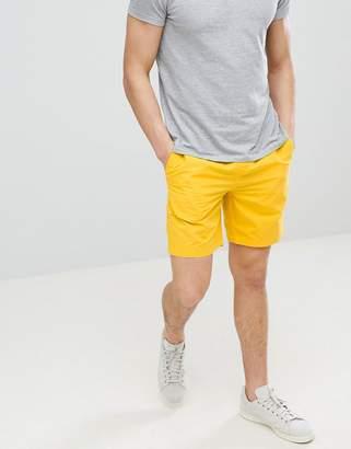 Jack Wills Cober drawstring short in yellow