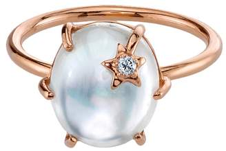 Andrea Fohrman White Mother Of Pearl Mini Galaxy Star Ring