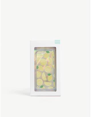 Skinnydip Glitter lemon iPhone 6, 7 and 8 case