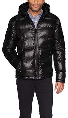 GUESS Men's Midweight Puffer Jacket