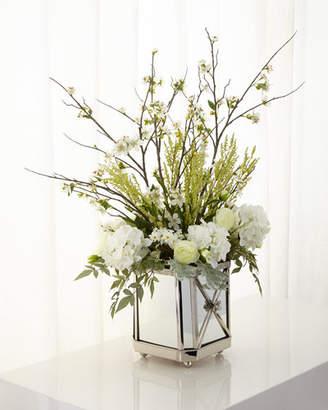John-Richard Collection Garden Reflections Faux-Floral Arrangement