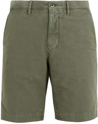 Incotex Mid-rise straight-leg stretch-cotton shorts