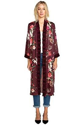 3J Workshop by Johnny Was Women's Full Length Kimono Jacket