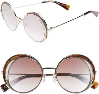 Marc Jacobs 51mm Round Sunglasses