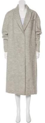 Brunello Cucinelli Long Alpaca-Blend Coat