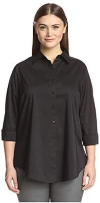Society New York Women's Shirred Sleeve Tunic