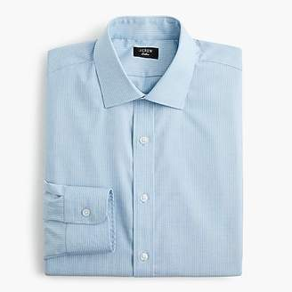 J.Crew Ludlow stretch two-ply easy-care cotton dress shirt in stripe