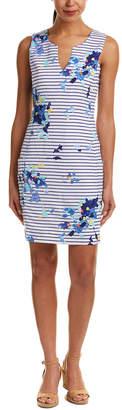 Joules Linen-Blend Shift Dress